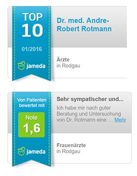 Dr. Rotmann Jameda Bewertung